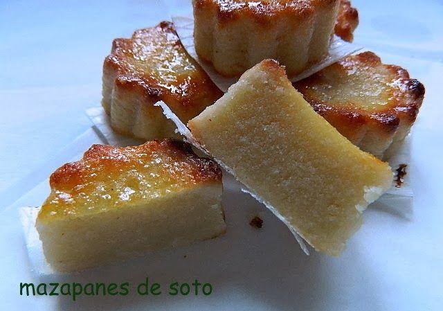 las recetas de mi abuela: MAZAPANES DE SOTO
