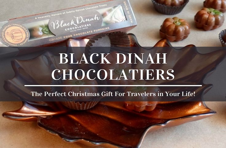 If you are looking for the perfect Christmas gift this year, consider Black Dinah Chocolatiers and their array of delicious looking confectionary.