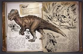 ark survival evolved dossier - strong. While collect wood and thach. When u try to tame it will fight back