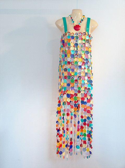 plastic dress. Inspiración