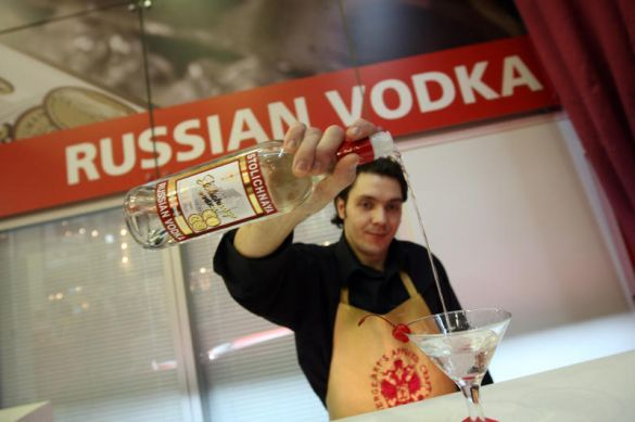 RUSSIAN CITIES DISCUSS BANNING BOOZE ONCE A WEEK