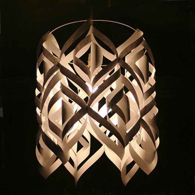 lamp shade crafts | Remodelaholic | Craft-aholic! DIY Designer Lamp Shade