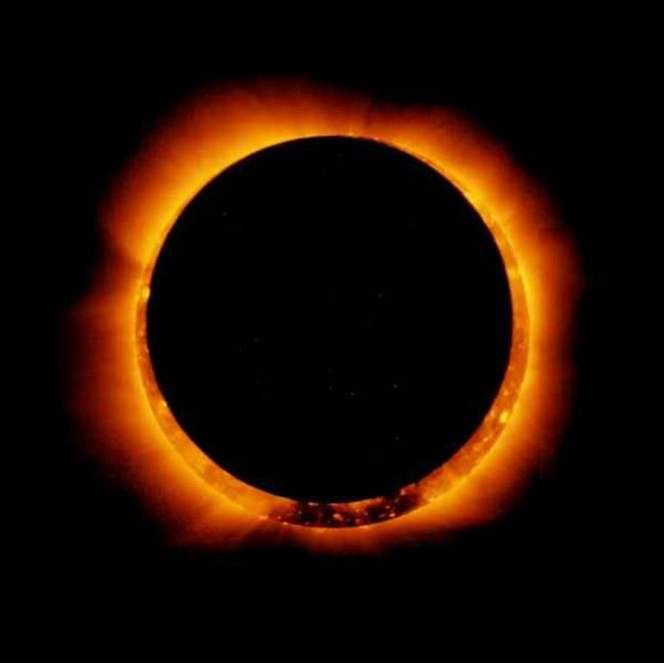 NASA Photo of the Solar Eclipse