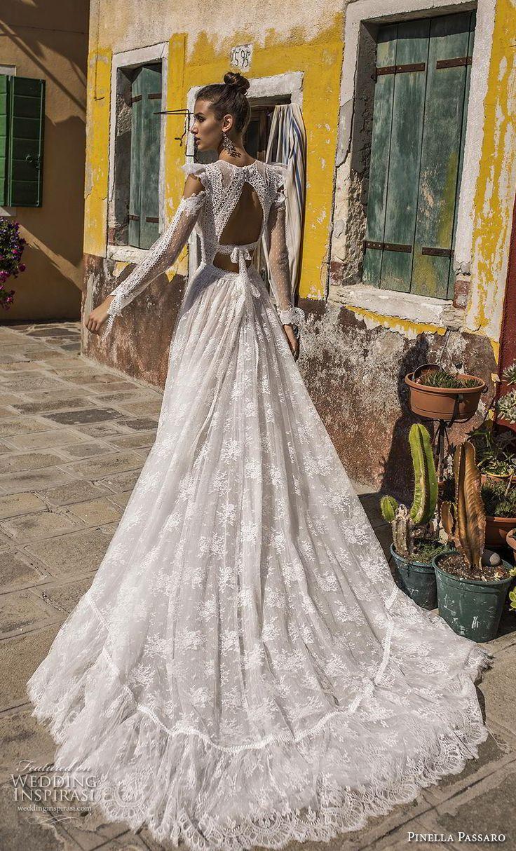 "Pinella Passaro 2019 Wedding Dresses — ""Wedding in Venice"" Bridal Collection"