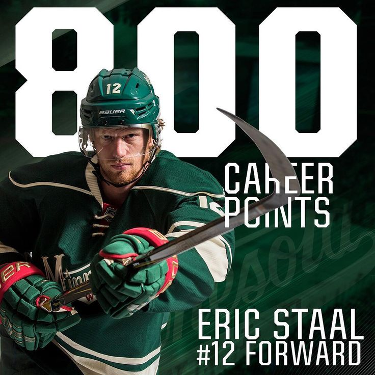 Double tap to congratulate Eric Staal on his 800th NHL point.
