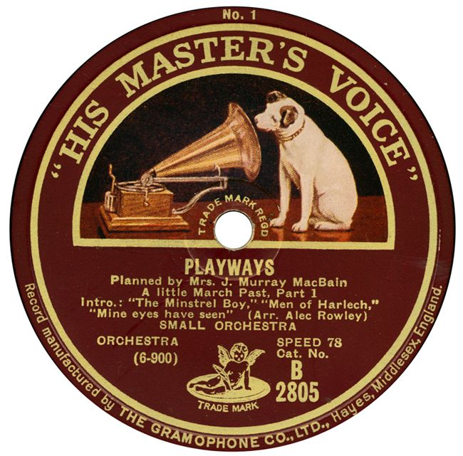 """By 1909, """"His Master's Voice"""" Was The Official Trademark"""