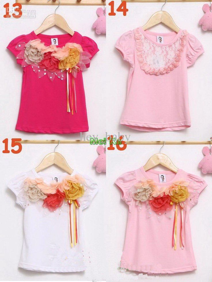 girls-t-shirts-b2w2-children-flower-tops.jpg (800×1066)