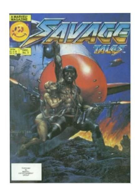 Savage Tales #2, Marvel Magazine, 1985 Comic Book