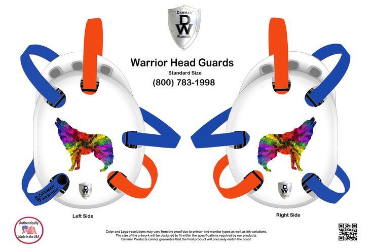 Warrior Wrestling Headgear Lone Wolf | NO.HOLES.TEMP | headgear Warrior Wrestling Headgear Lone Wolf | 40.95