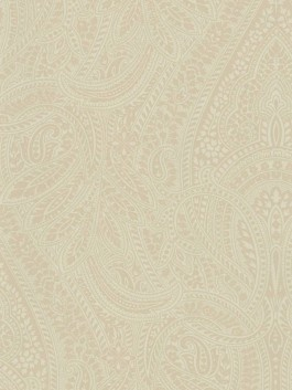 FOYER - Raymond Waites Wallcoverings - Cool Energy House - Paisley RW 20608: Beautiful subtle paisley wallpaper from the Raymond Waites Belgian Luxe book. This collection features formal patterns that would add style and a desgner look to any room in your home.