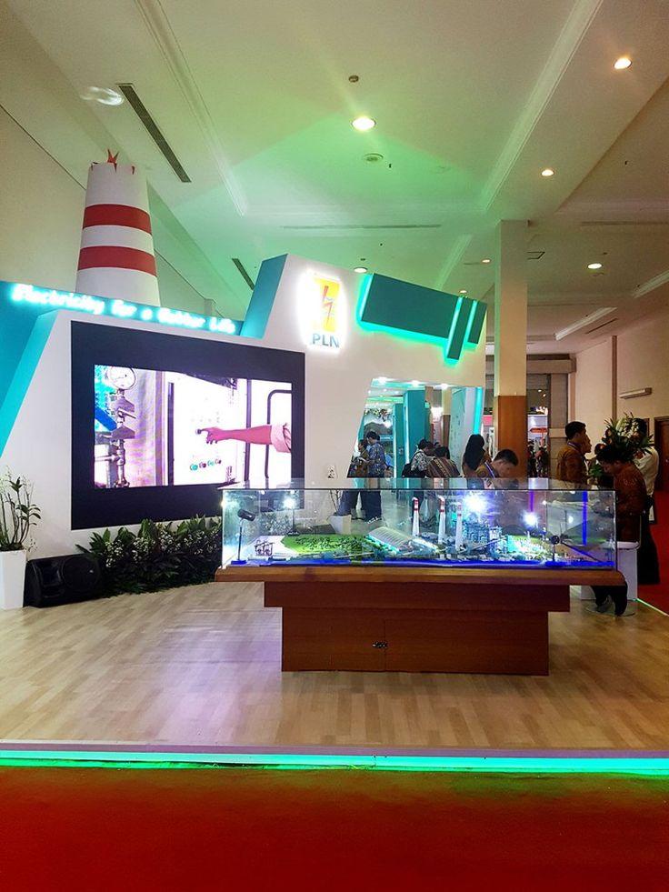 Pameran Indonesia Business and Development Expo (IBDExpo) 2016 – PT PLN (Persero) - Desain & Produksi Booth Stand Pameran   mandiricitra.comDesain & Produksi Booth Stand Pameran   mandiricitra.com