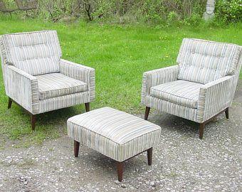 mid century pair of paul mccobb nightstands see more 3 pcs vintage 1950s club chair set and ottoman paul mccobb era vintage