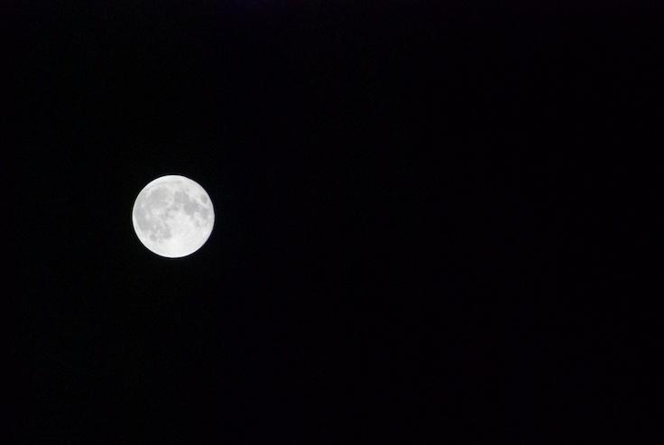 SuperMoon, 6 may 2012 , 10.34PM
