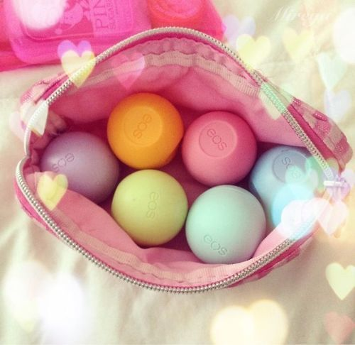 eos ♡ I want the passion fruit. Best lip balm ever! It is so moisturizing and does not have a really strong scent.
