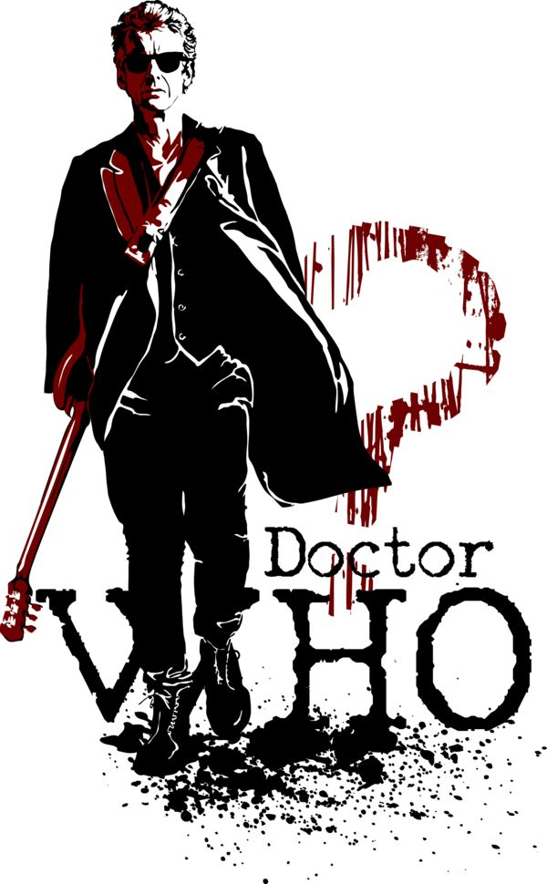 Who. Peter Capaldi as Doctor Who. http://mad42sam.deviantart.com/art/WHO-578843530