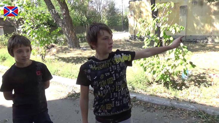 войны - юные патриоты Новороссии