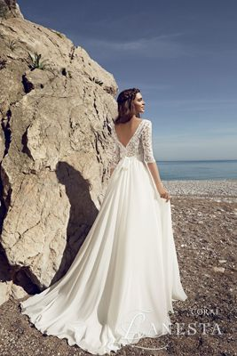 cc42476170 Suknia ślubna Coral 3 z firmy Lanesta