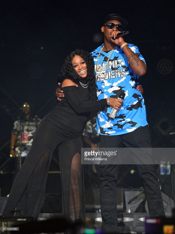 Rapper Trina and Silkk The shocker perform during the 2017 ESSENCE Festival Presented by Coca Cola at the Mercedes-Benz Superdome on July 2, 2017 in New Orleans, Louisiana.