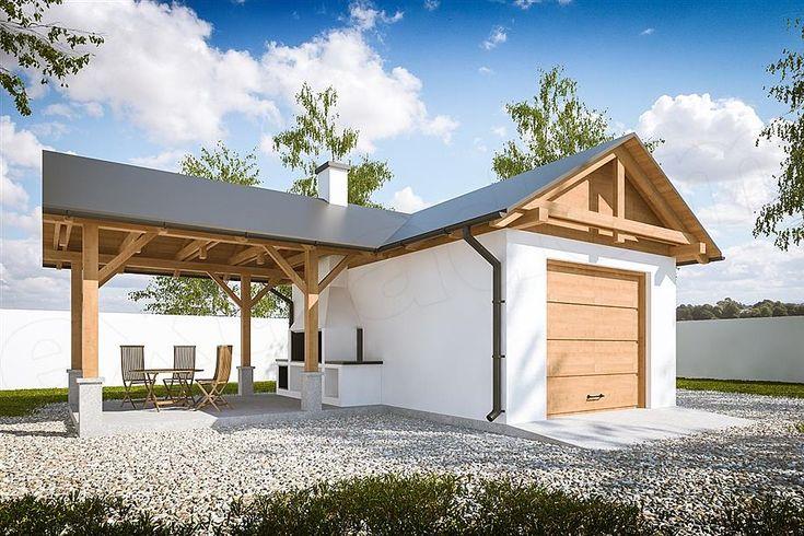 projekt G292 - Budynek garażowy PRA1325