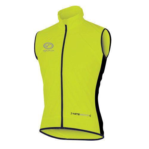 d799336cd04 Optimum Sports Cycling Jacket Nitebrite Gilet Lightweight High-Viz  Showerproof  ebay  Lifestyle