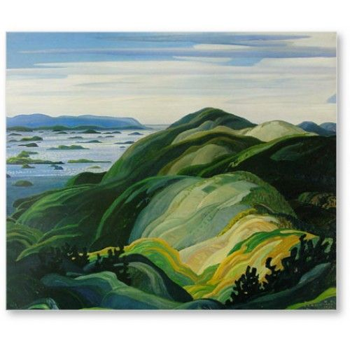 Franklin Carmichael // Bay Of Islands 1931