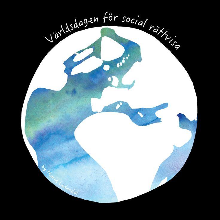 Idag är världsdagen för social rättvisa instiftad av FN med syfte är att erkänna vikten av att bekämpa fattigdom, uteslutning och arbetslöshet. Jag tänker att social rättvisa borde vara självklart om vi vill leva i en värld med jämlikhet, solidaritet och respekt för mångfald. Det finns många kopplingar till yogans filosofi och dess 8 grenar. Yama, den första grenen, handlar om att leva på ett värdigt sätt och bemöta sin omgivning med respekt. Yoga är inte flummigt, yoga är självklart.