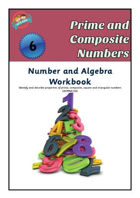 Prime, Composite, Square and Triangular Numbers Workbook from Splash Resources on TeachersNotebook.com -  - Students will learn how to identify and use prime, composite, square and triangular numbers.