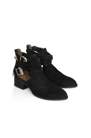 Everly Black Punch Out JEFFREY CAMPBELL