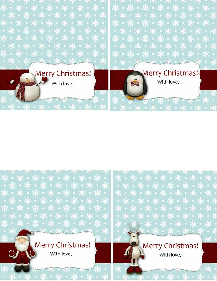 12/22/12 Treat bag topper printable for some stocking stuffer treats.