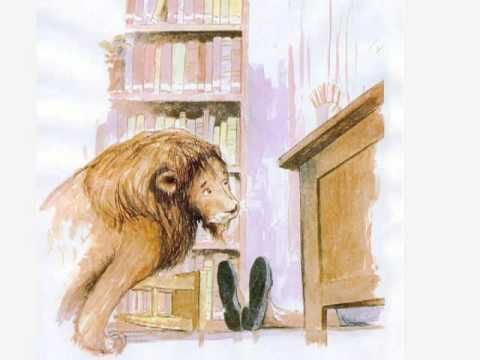Un leone in biblioteca di Michelle Knudsen NordSud Edizioni videolettura - YouTube