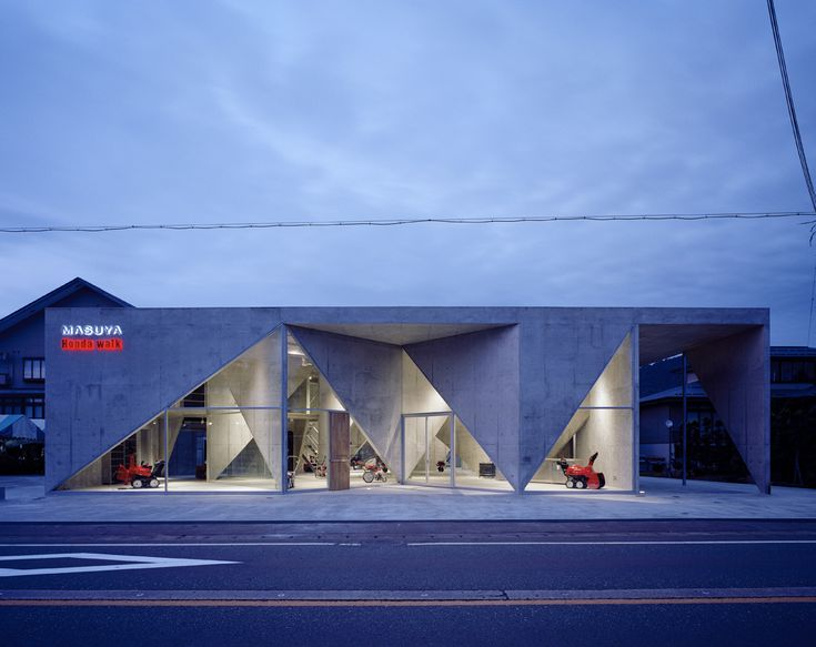 Showroom H by Akihisa Hirata #architecture