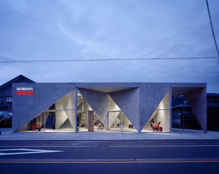 Showroom H by Akihisa Hirata #architecture