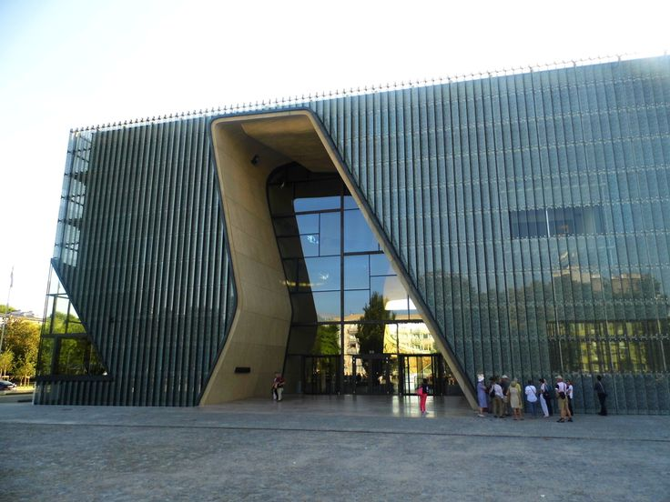 The Museum of the History of Polish Jews in Warsaw