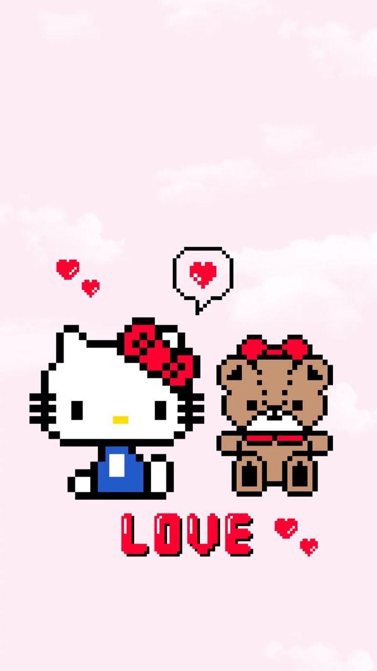 Top Wallpaper Hello Kitty Swag - 0da5a0376585febc9b9250d9a09dfc15--sanrio-hello-kitty  Collection_644976.jpg