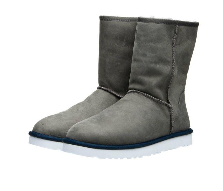 Мужские кожаные сапоги UGG Australia M Classic Short Leather на овчине! 2 599 грн