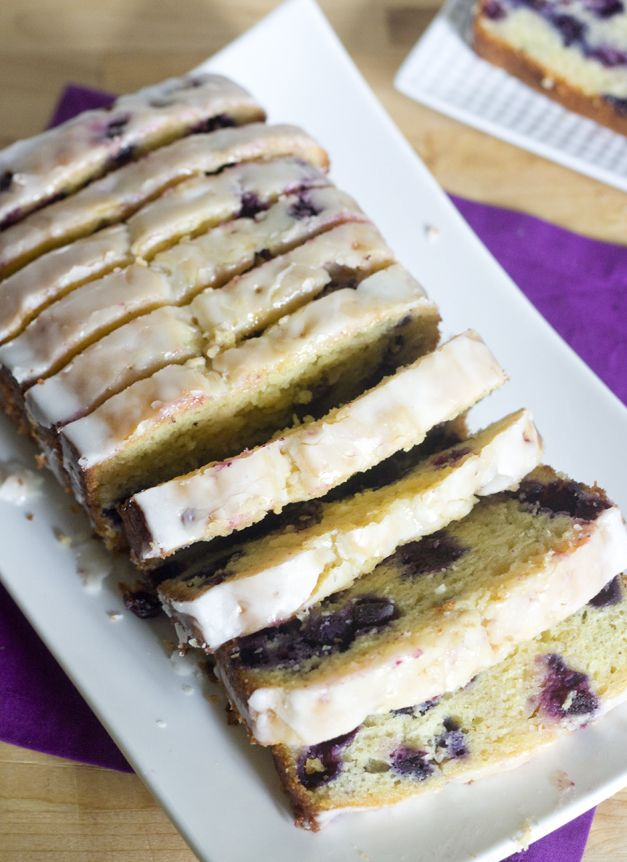 Lemon Blueberry Bread-so perfect. I love this bread! I make it all summer long!    Will make again!