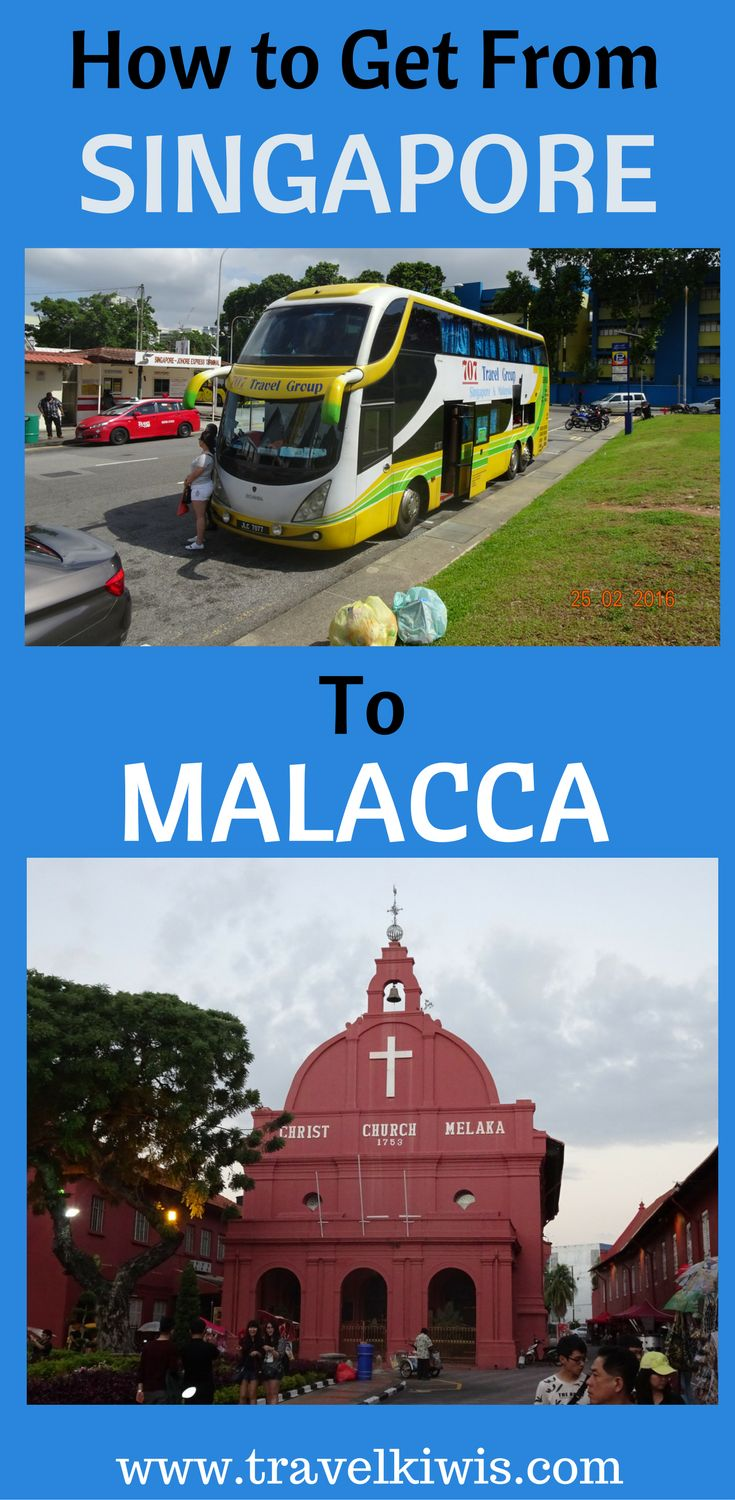 Learn what you need to know to get from Singapore to Malacca.