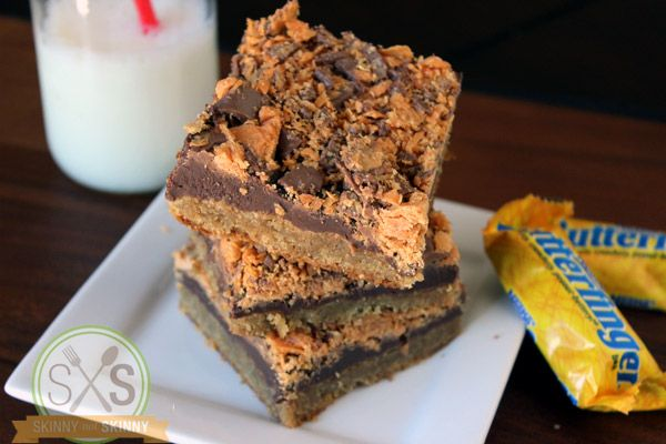 Butterfingers Cookie - So good!