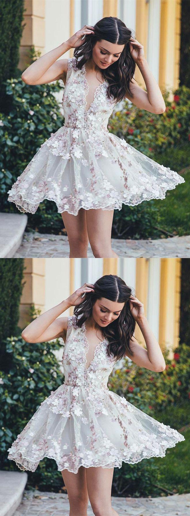 Black and white prom short dresses 2018