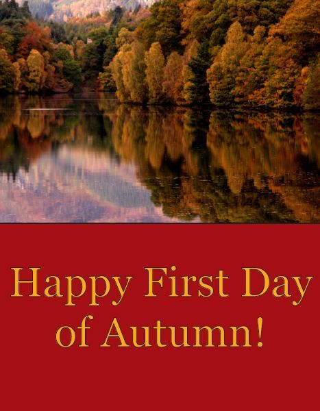 first day of fall images - Google Search