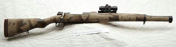 Mauser K98 Scout RifleFind our speedloader now! http://www.amazon.com/shops/raeind