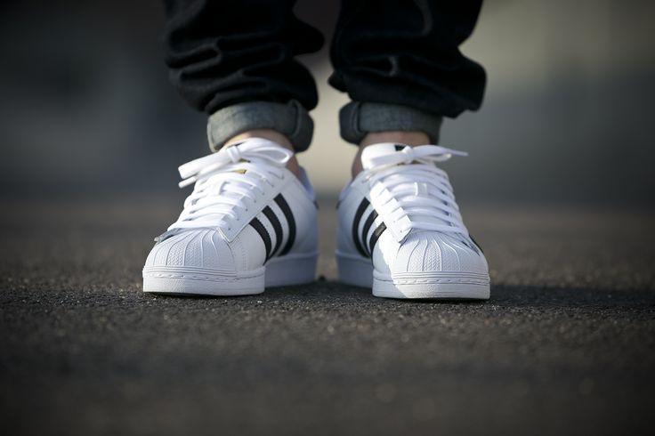 "adidas Superstar ""Black Stripes"" (C77124) sklep: http://goo.gl/xy6YVw"
