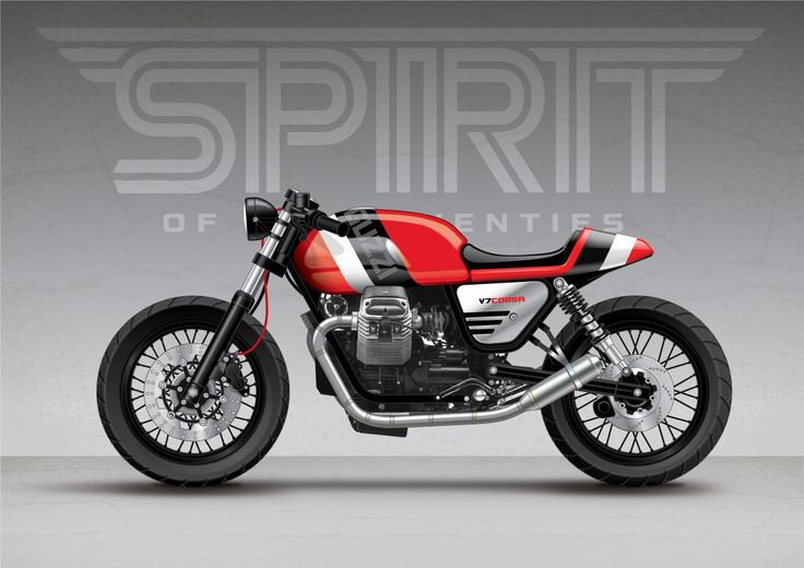 Spirit;Blog - Moto Guzzi V7 Stone - We've been really looking...