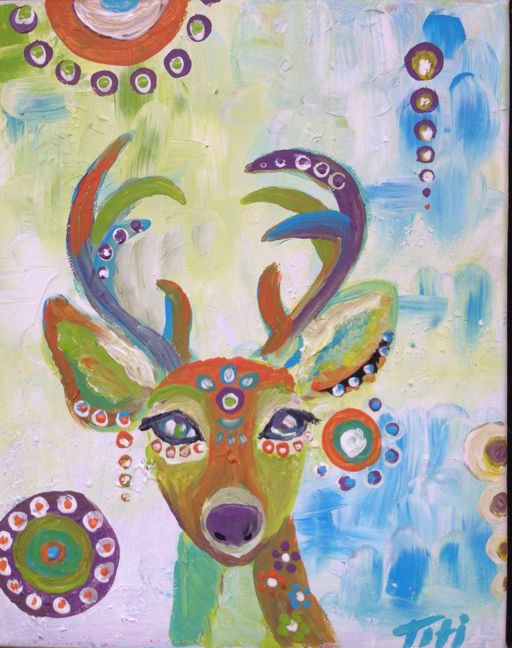 Deer from the magicland