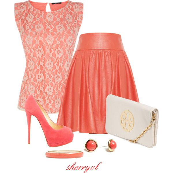 Lace In The Summer, created by sherryvl on Polyvore