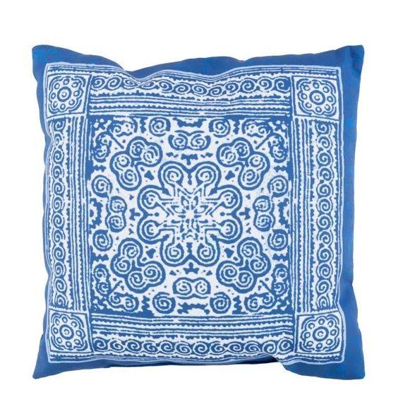 tile print pillow