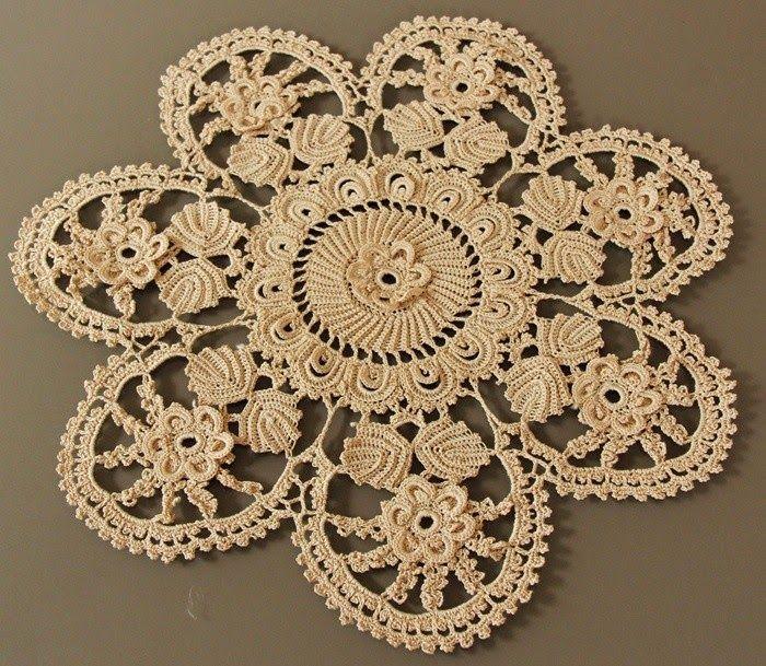 Irish Crochet Doily