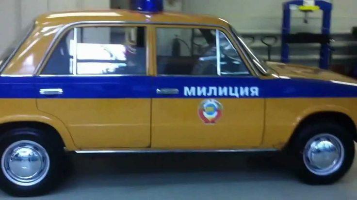 ВАЗ 2101 ГАИ СССР
