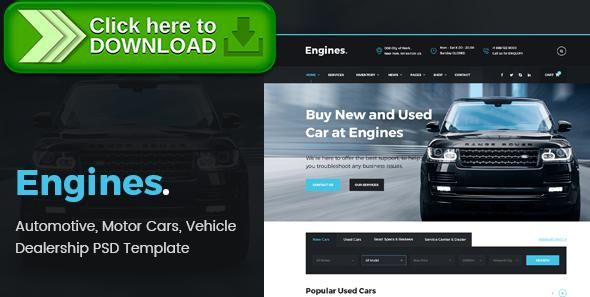 [ThemeForest]Free nulled download Engines - Automotive, Motor Cars, Vehicle Dealership PSD Template from http://zippyfile.download/f.php?id=10489 Tags: auto, automotive, car, car dealer, car dealership, dealership, motorcycle, psd, psd template, truck, vehicle, vehicle listing, vehicle search
