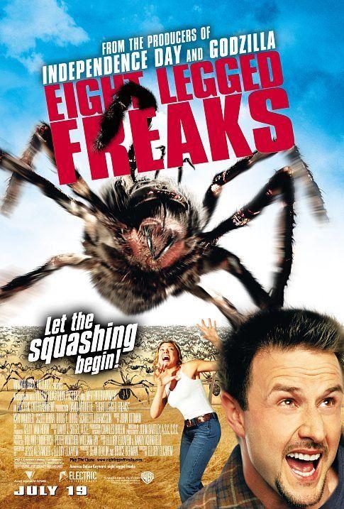 "Eight Legged Freaks (2002). Hygsom ... ""We got cocoons, guys!"""